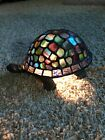 Tiffany style Stained Glass Turtle Tortoise Table Accent Lamp Night Light
