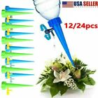 Garden Plant Self Watering Spikes Adjustable Automatic Drip Irrigation System US