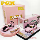 PreOrder PGM 164 Prosche RWB 930 Pink Ordinary Luxury with doll of pig