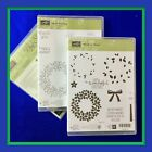 Stampin Up WONDROUS WREATH CIRCLE OF SPRING Stamps  WREATH Dies NEW