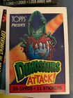 1988 Topps Dinosaurs Attack Trading Cards 8