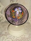 Fenton Glass 5385 8K Purple Lavender Designer Collection Hat on Stand NEW NIB