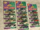Complete set Of 13 Johnny Lightning Monopoly Die cast Cars w Collectors Tokens