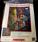 Dimensions Needlepoint NATIVITY Stocking Kit 9092 New Sealed