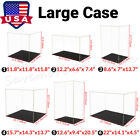Large Acrylic Display Case Dustproof Clear Box Diecast 118 Action Figures US