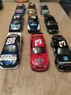 Nascar Lot of 9 124 cars Some die cast some plastic