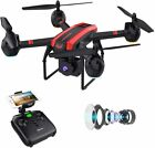SANROCK Drones with Camera for Adults and Kids 1080P Full HD FPV Live Video