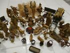 LOT of 44 Fontanini Depose Nativity figures animals accessories