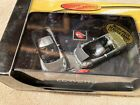 Hot Wheels Corvette C6 Silver Convertible Coupe Limited Edition 2 Car Set 164