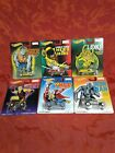 rare HotWheels Pop Culture Marvel 6 Car Complete Set Real Riders metal 2014 gift
