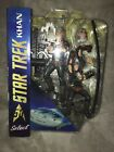 STAR TREK Diamond Select Khan 7 Figure from The Wrath Of Khan Movie
