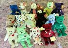 TY  Beanie Babies Lot  OF 16  Vintage Plush TOYS