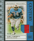 Top 10 Earl Campbell Football Cards 30