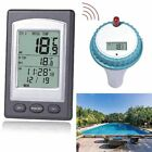 Solar Powered Digital Wireless Swimming Pool Thermometer SPA Floating