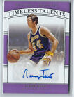 JERRY WEST 2019-20 NATIONAL TREASURES TIMELESS TALENTS AUTO AUTOGRAPH # 49
