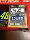 2002 Jimmie Johnson SIGNED Chase The Race Lowes Rookie car RC Rare 1 of 200