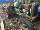 Breaking fordson major tractor
