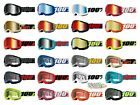 100 STRATA 2 Goggles ALL COLORS Offroad MX MTB Moto CLEAR OR MIRROR LENS