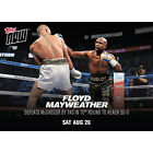 2017 Topps Now UFC MMA Cards 15