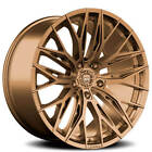 4 22 Staggered Lexani Wheels Aries Satin Bronze RimsB44
