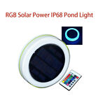 Pond Light IP68 RGB Waterproof Swimming Pool Floating Party Outdoor Decorative