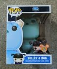 FUNKO POP SDCC 2012 Disney Monsters Inc. Sulley & Metalllic Boo Signed Sketch