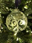 William Yeoward Etched Crystal Ornament