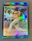 Miguel Cabrera 2002 Bowman Chrome Draft Refractor 195 300 Rookie RC Tigers