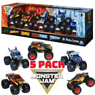 Monster Jam Monster Trucks 5 Pack Fire and Ice Walmart Exclusive 164 Die Cast