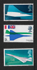 1969 GB First Flight of Concorde Complete Set Unmounted Mint