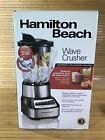 Hamilton Beach Wave Crusher 14 Speed Stainless Steel Blender for Shakes Smoothie