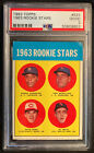 1963 Topps #537 Pete Rose Rookie Stars PSA 2 Good New PSA Label Centered