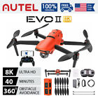 Autel EVO 2 8K 6K Pro Drone Quadcopter Ultra Camera Rugged Bundle Extra Battery