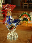 VINCI Italy Art Glass Large Rooster Absolutely Stunning Excellent Condition