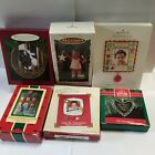 Hallmark ~ Mixed Lot of 6 different Ornaments ~ Christy(All God's Children), etc
