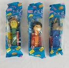Lot of 3 PEZ Shrek Characters Donkey, Fiona, Puss N Boots