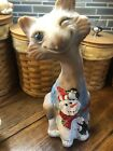 Fenton Snoman  Penquin Alley Cat Chocolate Satin Glass