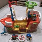 FISHER PRICE LITTLE PEOPLE MAYFLOWER SHIP THANKSGIVING PILGRIM BOAT W PEOPLE+ACC