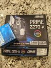 ASUS Prime Z270 A motherboard + intel dual core g4400 cpu + 8gb ram + 120gb ssd