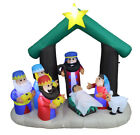 NATIVITY SCENE THREE KINGS Outdoor Christmas Inflatable Decoration LED Lights