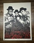 Shepard Fairey OBEY GIANT Run DMC Red Variant Art Print Poster Signed XX 400
