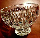 Marquis Waterford Crystal 55 inch Footed Platform Hand Carved Crystal Bowl Dish