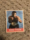 Mike Tyson Boxing Cards and Autographed Memorabilia Guide 10