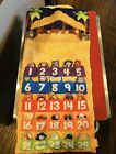 Fisher Price Little People Fabric Nativity Advent Christmas Calendar Music