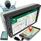 7 2DIN Car Stereo Radio D Play Touch Screen USB MP5 Player Mirror Link w Cam C1