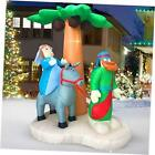 Christmas Inflatables Outdoor Decorations for The Yard Blow Up Nativity Sets
