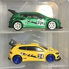 HOT WHEELS Loose X2 SPEED MACHINES Series Volkeswagen Scirocco GT 24 Both Colord