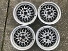 86 91 Mazda RX 7 FC OEM BBS 15X65 Light Weight Factory Alloy 4 Wheels Set