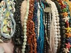 LOT 37 139 strands Gemstone  Glass Beads For Jewelry Making 15 Long