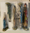 Josephs Studio Complete 5 figure Nativity set with Box Beautiful colorful set